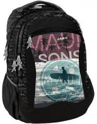 Modny Plecak Młodzieżowy Szkolny dla Chłopaka Maui Sons [MAUI-2808]