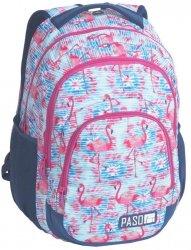 Duży Plecak Młodzieżowy Szkolny Flamingi [18-2706FLA]