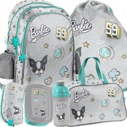 Duży Plecak Szkolny Barbie dla Dziewczyny Komplet [BAR-081]