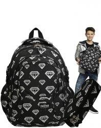 Plecak St.Right Diamenty Szkolny Młodzieżowy [BP1]