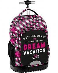 Plecak na Kółkach Kołach Dream Młodzieżowy Szkolny Barbie [BAE-1231]
