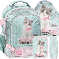 Szkolny Plecak dla Dziewczynki w Koty Kotek [PET-260]