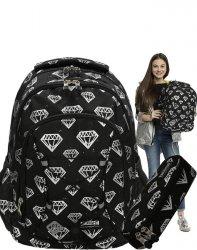 Młodzieżowy Plecak Dziewczęcy St.Right Diamenty [BP32]