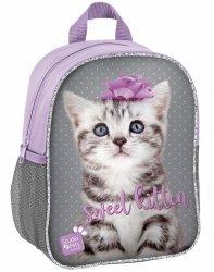Plecak Przedszkolny na Wycieczki Plecaczek z Kotem [PTC-303]