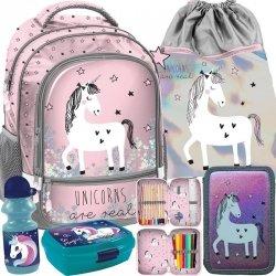 Jednorożec Plecak dla Dziewczynki do Szkoły Nowoczesny Paso [PP19UN-260]