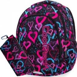 Plecak CP CoolPack Młodzieżowy Kolorowe Serca [B25038]
