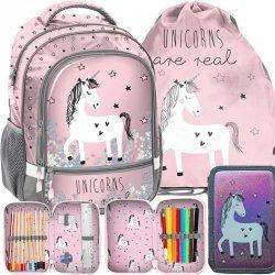Idealny Plecak Jednorożec dla Dziewczyny Szkolny Różowy [PP19UN-260]