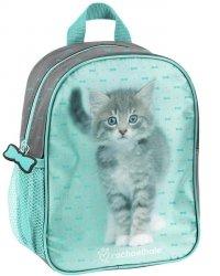 Mały Plecaczek z Kotkiem dla Przedszkolaka na Wycieczki Plecak [RLC-303]