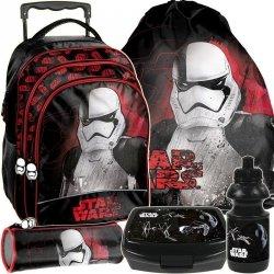 Star Wars Plecak z Kołami Szkolny Komplet dla Chłopaka [STP-300]
