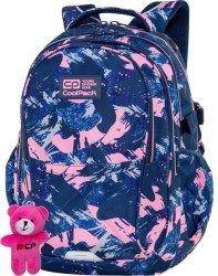 CoolPack Cp Plecak dla Dziewczyny Granatowy Różowy Szkolny PINK STROKES [C62187]