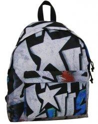 Ciekawy Plecak Vintage w Gwiazdy Młodzieżowy Szkolny [16J 05]