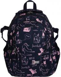 Plecak St.Right Młodzieżowy Szkolny Kotki dla Dziewczyny [BP1]