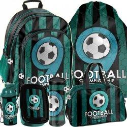 Plecak dla Chłopaka Piłkarski dla Fana Piłki Komplet [PP19F-090]