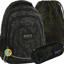 Plecak Moro Komplet Młodzieżowy BackUP Szkolny [PLB2A06]