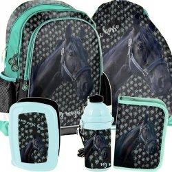 Plecak do Szkoły dla Uczennicy w Konie Komplet [PP19KN-081]