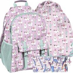 Plecak z Lamą dla Dziewczyny Szkolny Różowy [PP19LA-810]