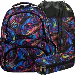 Plecak St.Right Młodzieżowy Szkolny Blue Illusion [BP7]