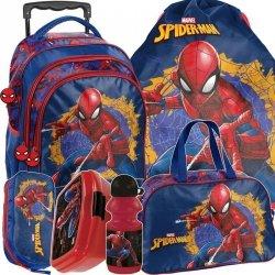 Mega Plecak SpiderMan na Kółkach Szkolny dla Chłopaka [SPU-300]