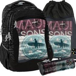 Surfing Plecak Młodzieżowy dla Chłopaka Szkolny [MAUI-2808]