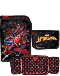 Spiderman Piórnik Chłopięcy Rozkładany Modny Paso [SPV-001BW]