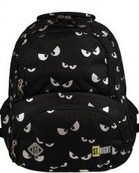 Plecak St.Right Młodzieżowy dla Dziewczyny Oczy Eyes [BP7]