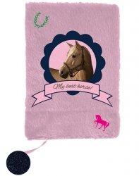 Pamiętnik dla Dziewczynki Pluszowy z Koniem [PPKM18-3670]