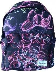 Plecak Vintage Młodzieżowy Szkolny dla Dziewczynki [16J 14]