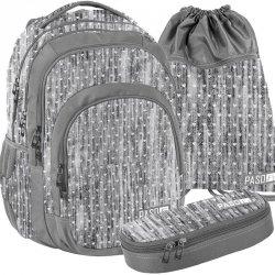 Duży Plecak Młodzieżowy Zestaw Szkolny dla Dziewczyny [PPMM19-2706]