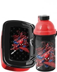 Śniadaniówka Bidon SpiderMan Zestaw dla Chłopaka [SPV-3022]