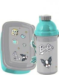 Śniadaniówka Bidon Barbie Girl dla Dziewczynki [BAR-3022]