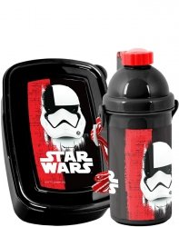 Bidon Śniadaniówka Star Wars Zestaw dla Chłopaka Paso [STO-3022]