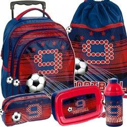 Piłkarski Plecak na Kółkach dla Chłopca Szkolny [PP19FT-300]