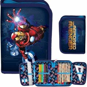 Iron Man Piórnik z Wyposażeniem dla Chłopaków Avengers [AIN-001]