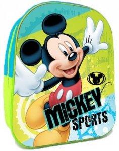 Myszka Mickey Plecaczek 3D Plecak Przedszkolny dla Chłopca [607100]