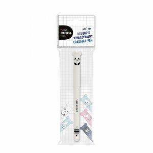 Długopis Wymazywalny Panda Ścieralny z Gumką Kidea [DWBKA]