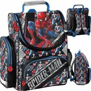 Spiderman Tornister Chłopięcy Szkolny Marvel Paso [SPW-525]