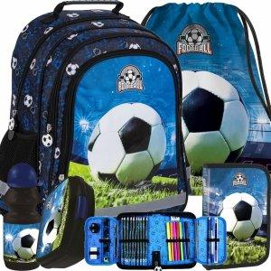 Piłka Nożna Plecak dla Chłopaków Szkolny Derform do klas 1-3 [PL15BPI16]