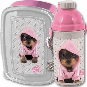 Śniadaniówka Bidon Pies York dla Dziewczynki Paso [PTJ-3022]