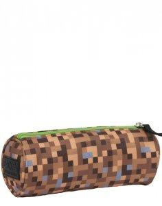 Minecraft Tuba Piórnik Szkolny dla Gracza Piksele Gra Gry [PB3T68]