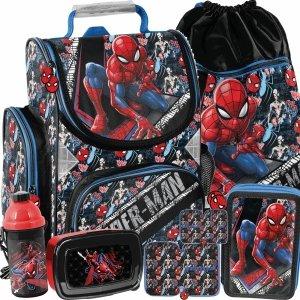 Tornister do 1 Klasy dla Chłopaka Spiderman Szkolny [SPW-525]