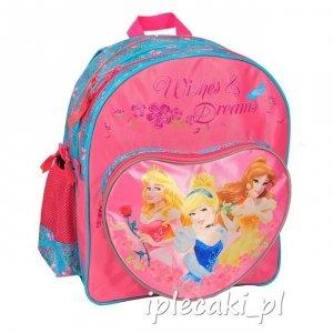 Plecak Szkolny dla Dziewczynki Księżniczka Księżniczki [DKN-157]