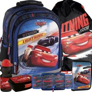 Szkolny Plecak Auta Cars Chłopięcy do Szkoły Podstawowej Zygzak [PL15BCA44]