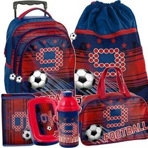 Plecak na Kółkach dla Chłopaka Piłka Nożna Szkolny [PP19FT-300]