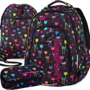 Nowatorski Plecak Cp CoolPack Cats dla Nastolatki [B18046]
