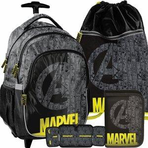 Avengers Plecak z Kółkami dla Chłopaka do Szkoły Iron Man [ANA-997]