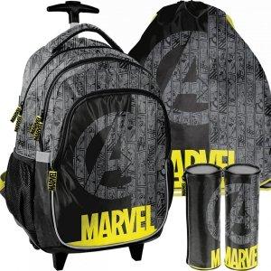 Plecak Avengers na Kółkach Marvel Szkolny Kapitan Ameryka [ANA-997]