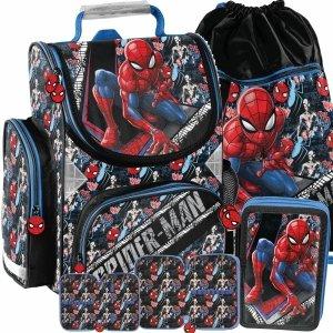 Spiderman Chłopięcy Tornister Szkolny Modny Paso [SPW-525]