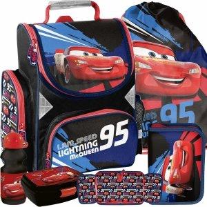 Zygzak Paso dla Chłopaka Tornister Dziecięcy Auta Cars do Podstawówki [DSD-525]