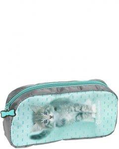 Piórnik Saszetka Kotek Kot dla Uczennicy Szkolny [RLC-004]