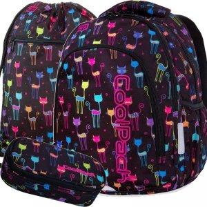 Młodzieżowy Plecak Cp CoolPack Kotki Cats Dziewczęcy [B25046]